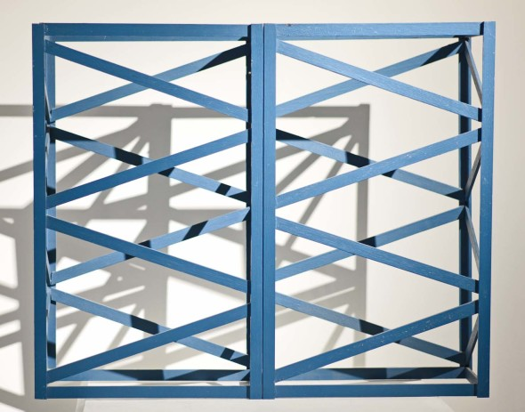 Rasheed Araeen, Winter Blue, 1968