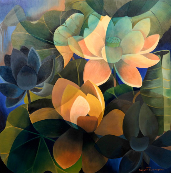 Senaka Senanayake, Dark Lotus, 2014