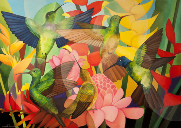 Senaka Senanayake, Hummingbirds, 2018