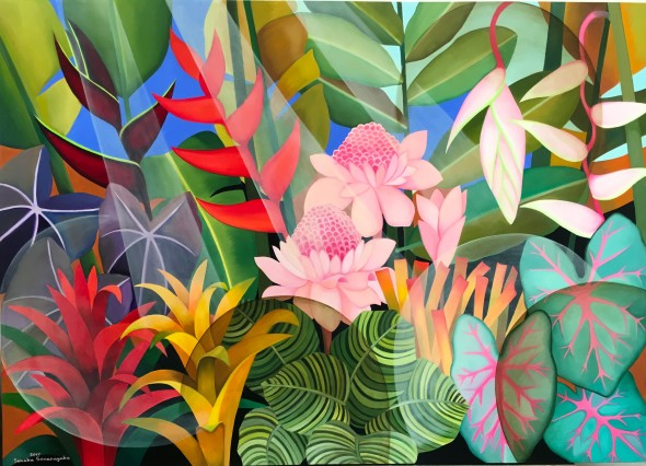 Senaka Senanayake, The Morning Blooms, 2017