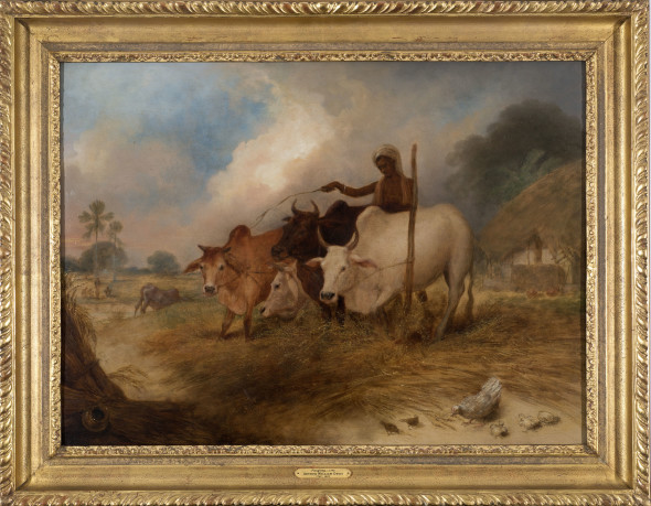 15. Arthur William Devis, Ploughing, c.1792-1795
