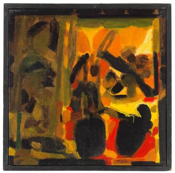 Sayed Haider Raza, Fruits d'Ete (Summer Fruits), 1969
