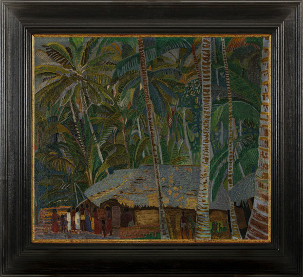 45. Jaroslav Hněvkovský, Untitled (Jungle Scene, Kerala), 1911