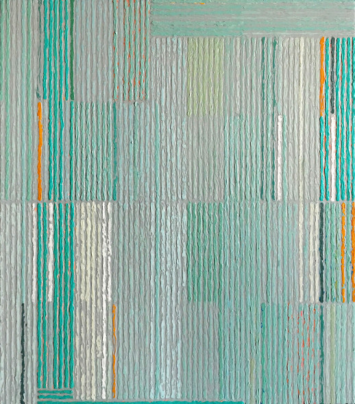 Sunny Taylor, Composition With Aqua Bars