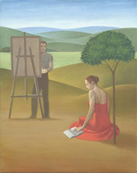 Alberto Galvez, El Pintor y la Modelo