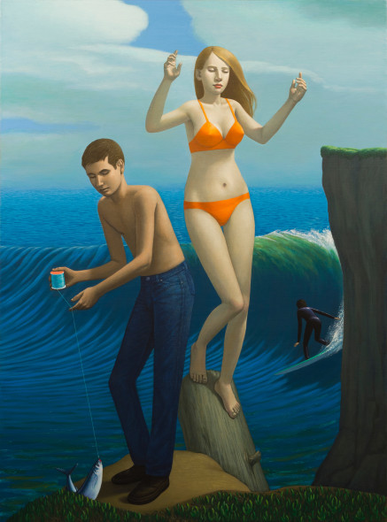 John Tarahteeff, The Catch (Steamer's Lane)