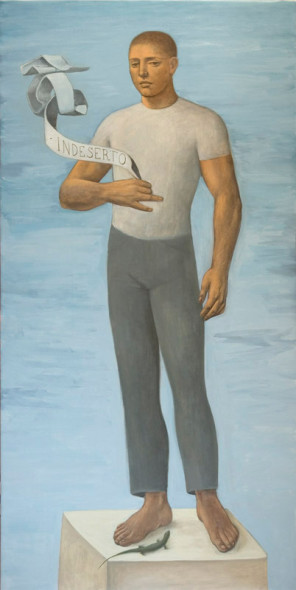 Alberto Galvez, in deserto