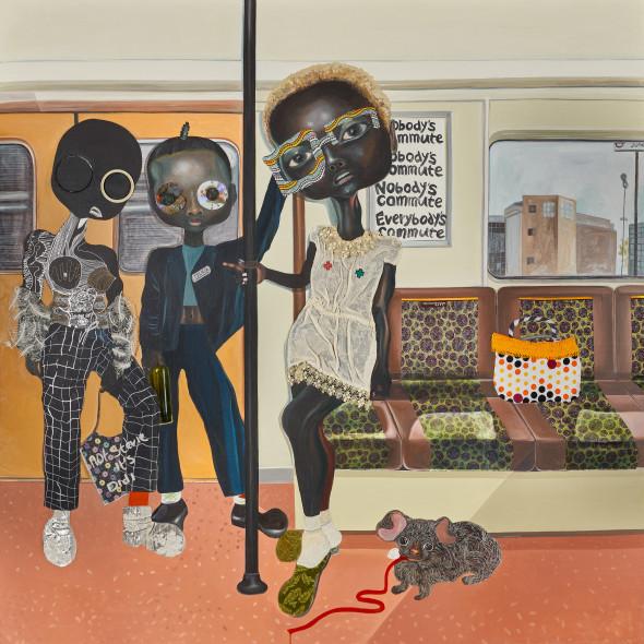 Ndidi Emefiele, Somebody's commute, 2018