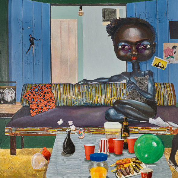 Ndidi Emefiele, Cuddle cat, 2018