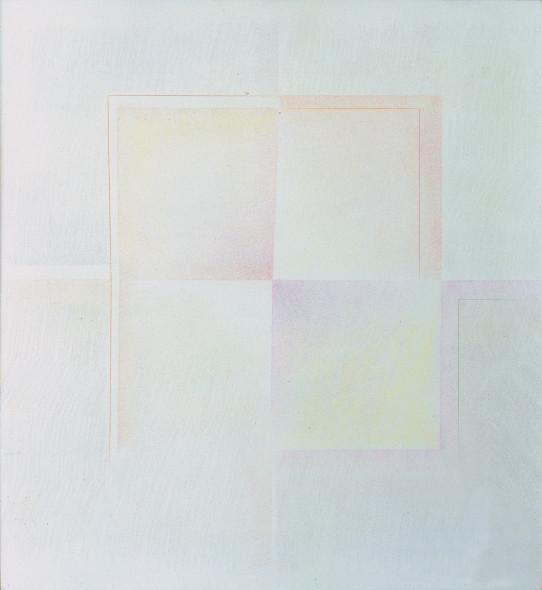 Riccardo Guarneri, 2 alternati giallo e rosa, 1968