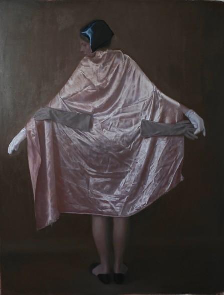 Teodora Axente, Pink cloak, 2018