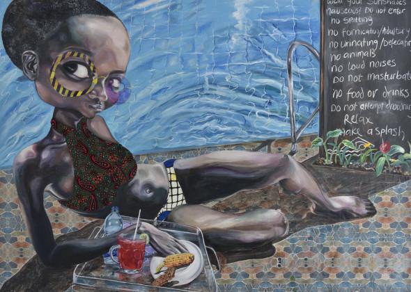 Ndidi Emefiele, Splash, 2017