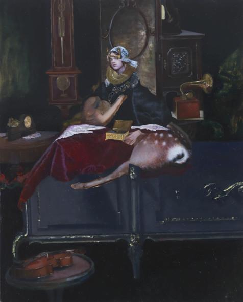 Teodora Axente, The gold wax box, 2019