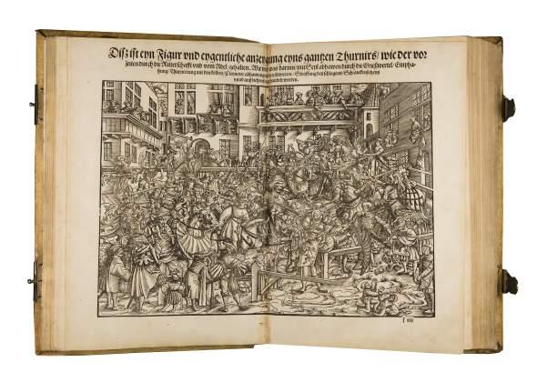 Turnierbuch - Book of Tournament, 1532