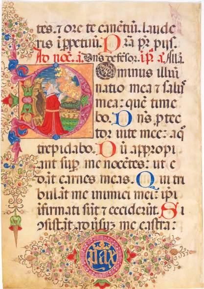 King David Prays, c. 1460-1470