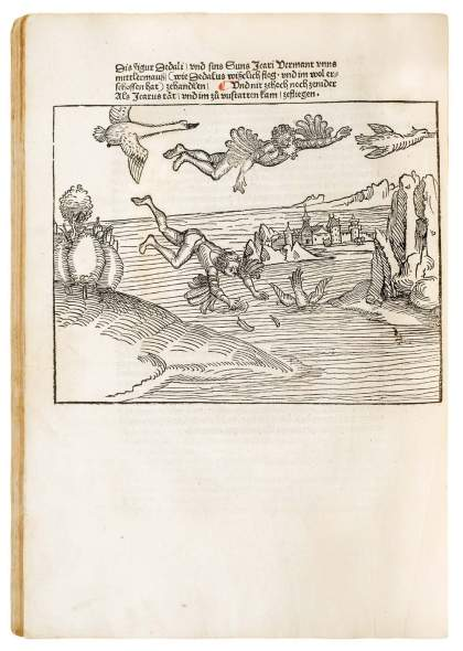 Friedrich Riederer, An early German work on Rhetoric with Dürer-inspired woodcuts, 1493