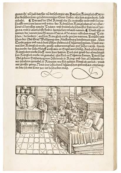 History of Charles V's Empire, 1520