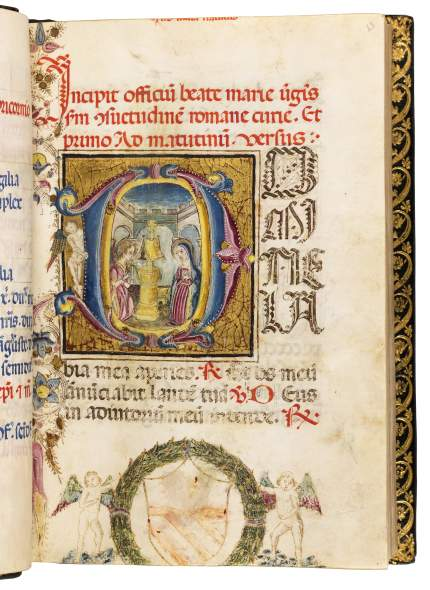 Book of Hours, use of Rome, 1494