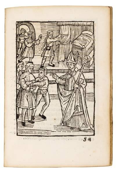 Splendidly illustrated Life of Saint Wolfgang, 1516