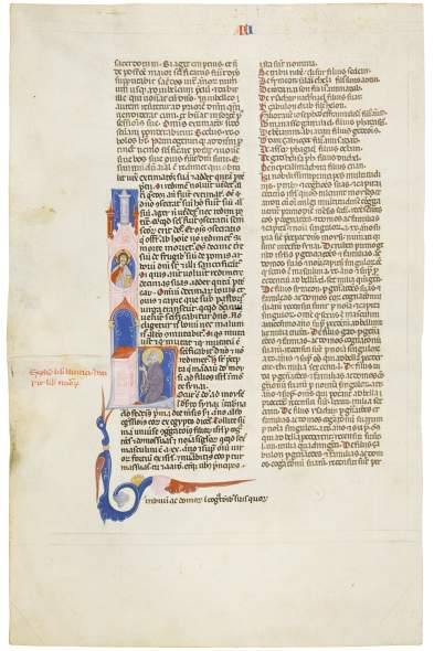 Masters of the Primo Stile Bolognese, Moses Called by the Lord, c. 1270