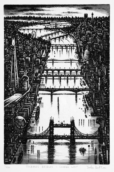 Thames Bridges - Looking West