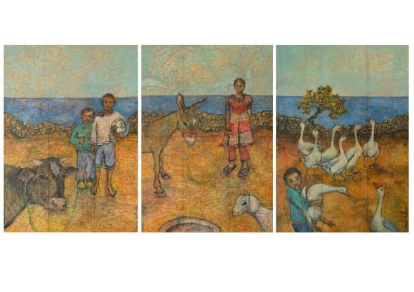 Kin Triptych