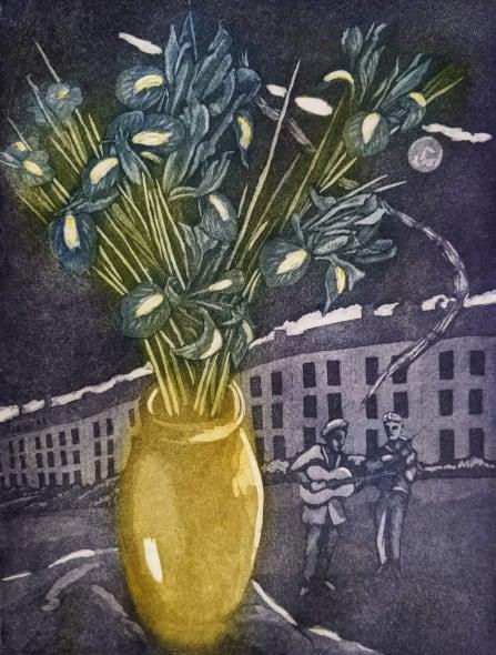 The Blue Irises
