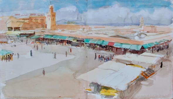 Jemaa el-Fna Square, Marrakech