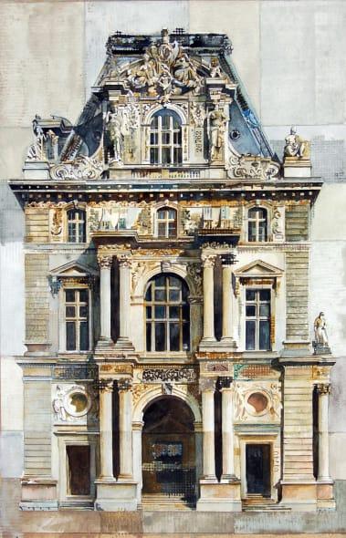 Louvre Pavilion Mollien Paris