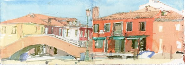 Burano after Lunch