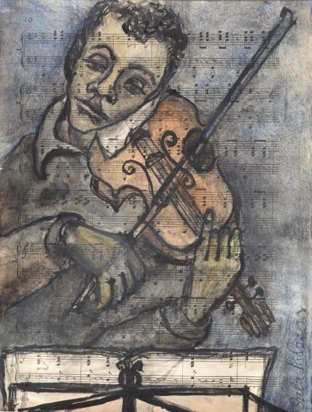 Violinist Study