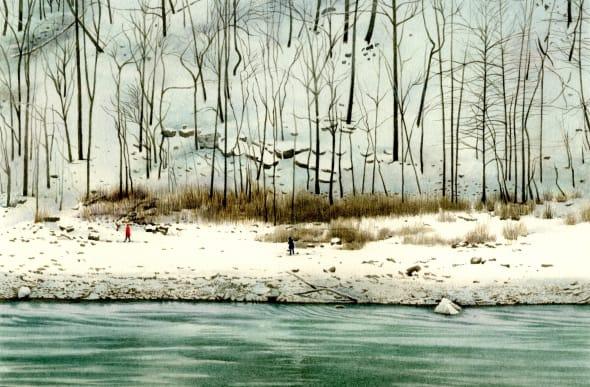 A Winter's Walk at Niagara