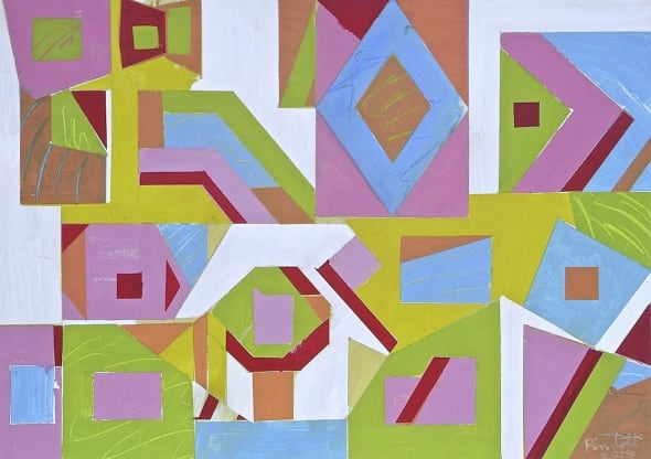 Arrangement for Eight Shapes