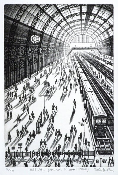 Arrival - King's Cross St Pancras Station