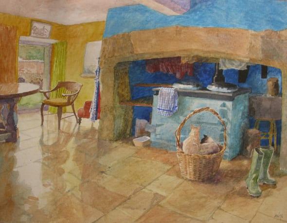 Interior at Friggs Mill