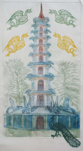 The Great Pagoda, Kew Gardens
