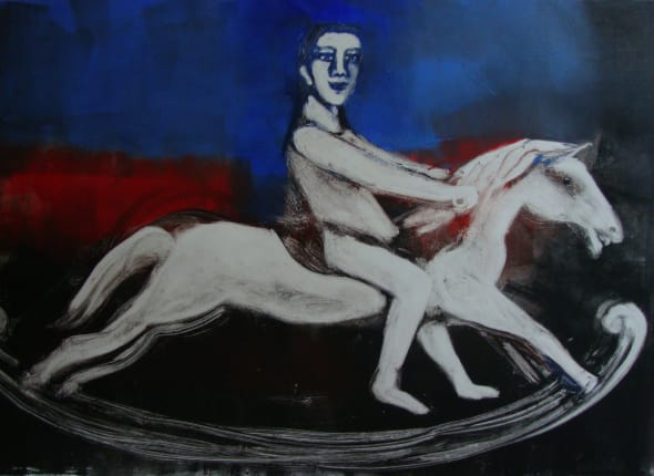 Boy on a Rocking Horse