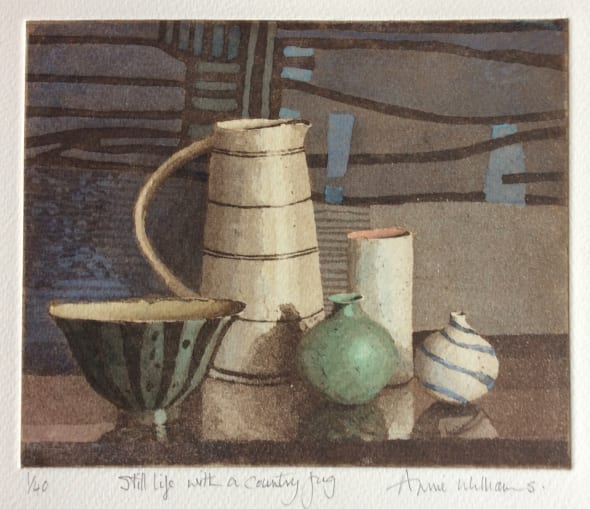 Still Life with a Country Jug