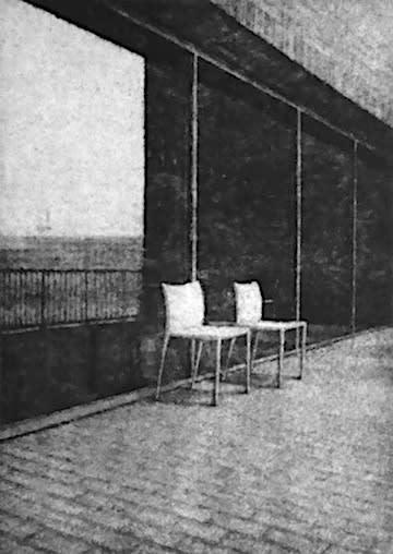 Terrace Tate Modern