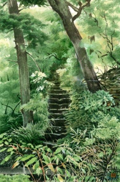 Garden at the Fujiya III