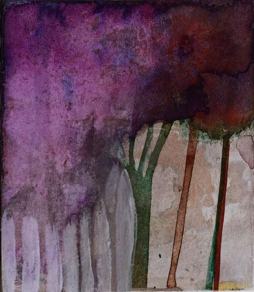 Tiny Purple Trees