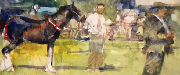 Shire Foal, Melplash