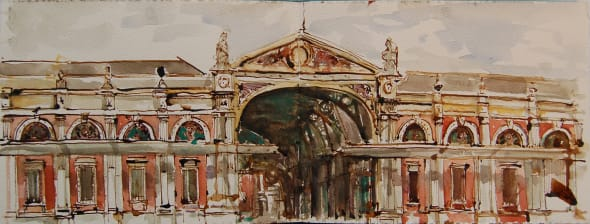 Smithfield Market Entrance