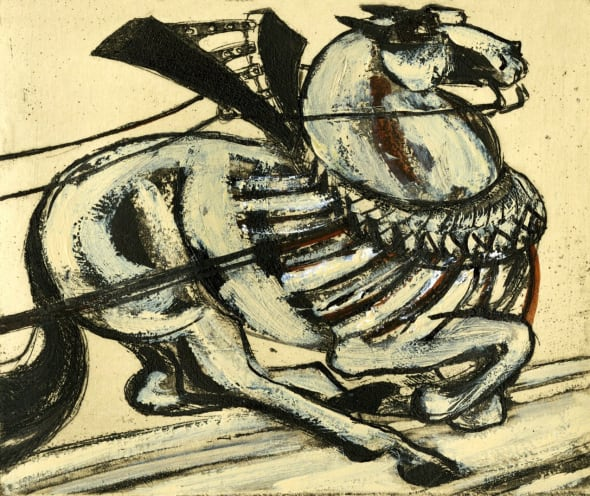 Provencal Wine Horse