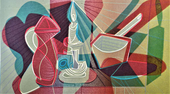 Homage to Picasso I