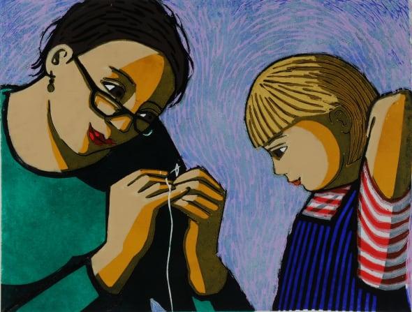 Teaching Betty to Sew