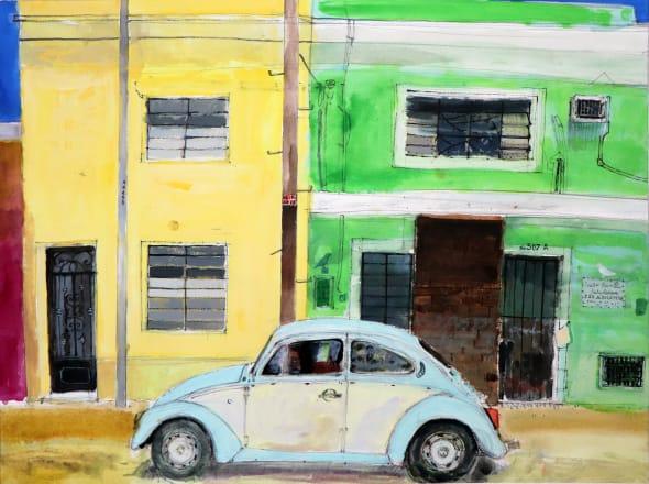 VW Beetle, Mérida, Yucatán, Mexico