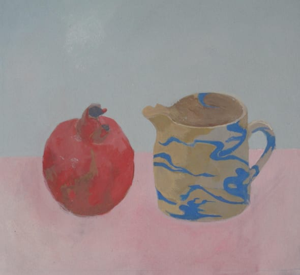 Marbled Jug and Pomegranate