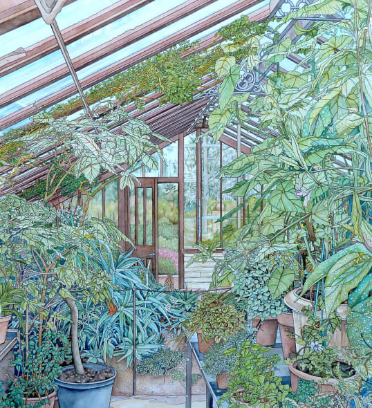Part of the Glasshouse.