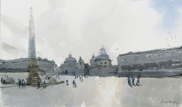 Obelisk, Piazza del Popolo, Rome